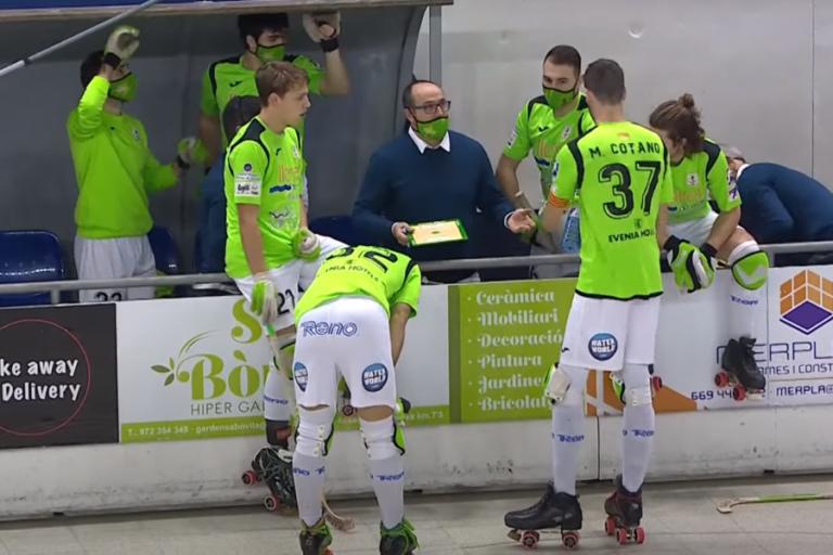 El Club Hoquei Lloret cau a la zona de descens després de perdre contra el Reus 4-8