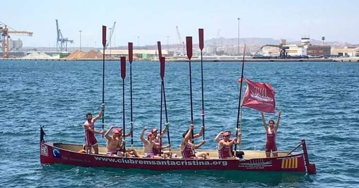 El Rem Santa Cristina es proclama campió d'Espanya de llaüt mediterrani