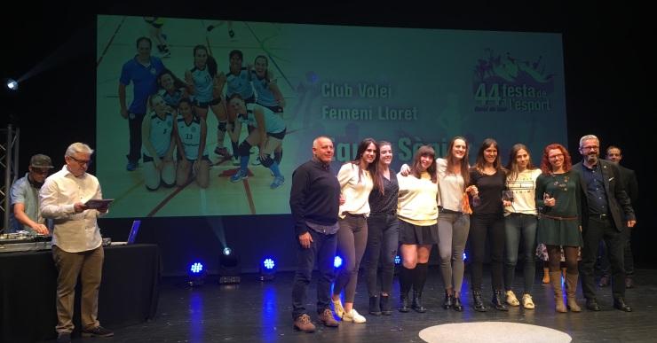 El Club Volei Lloret vol guanyar l'Arenys per col·locar-se a la part alta de la classificació en la fase d'ascens