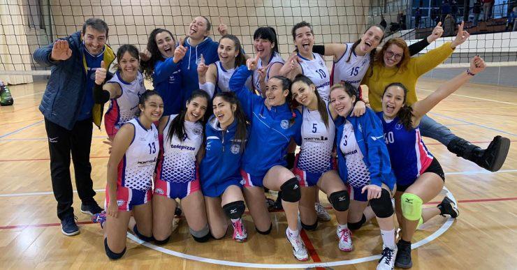 El Club Voleibol Lloret, classificat per disputar la fase d'ascens a Primera Divisió