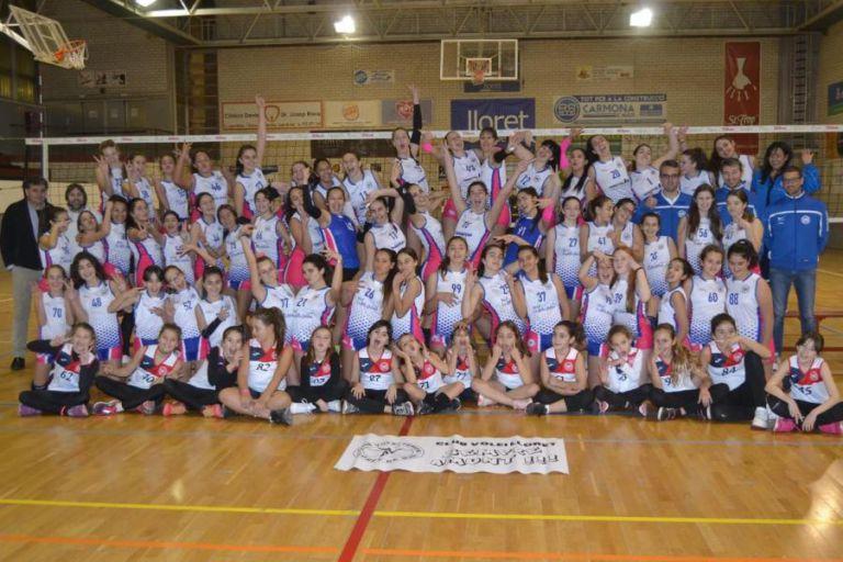 El Club Voleibol Lloret ho té tot a punt per tornar als entrenaments