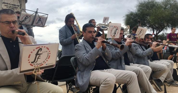 La cobla Flama de Farners farà una audició a Lloret en un dels últims actes de Festa Major