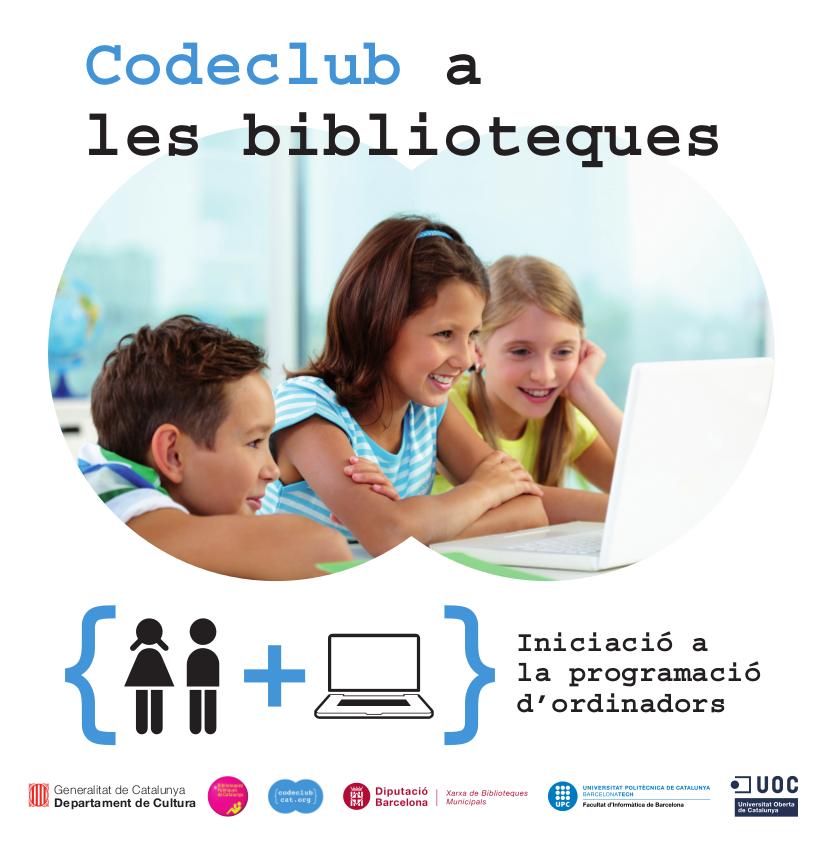 La biblioteca ofereix un taller de programació per a alumnes de 5è i 6è