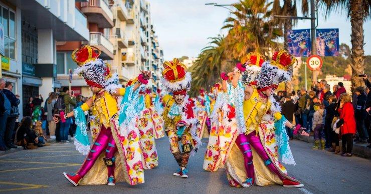 La Colla Encantats de Lloret, amb 'Rockocó', guanya dos premis al Carnaval de Blanes