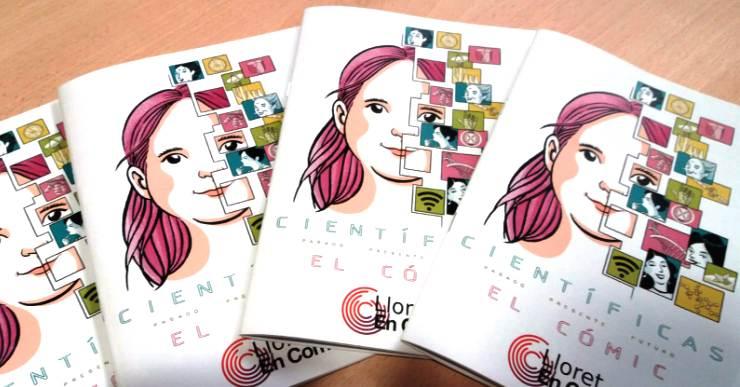 Lloret en Comú edita el còmic 'Científiques: passat, present i futur' per reivindicar el paper de la dona