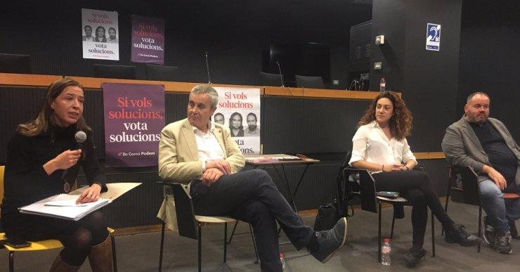 Catalunya En Comú Podem defensa el diàleg real entre Generalitat i Govern central per desbloquejar el conflicte territorial