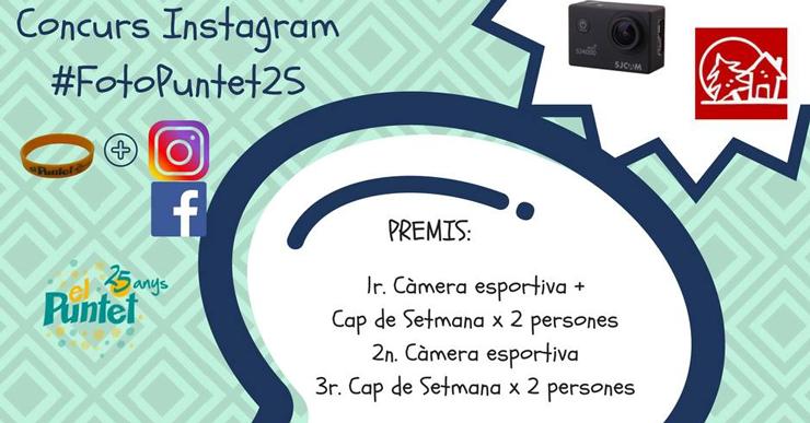 Aquest diumenge es tanca el termini per participar en el concurs de fotografia del Puntet