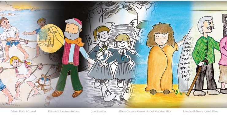 L'Ajuntament presenta un llibre amb cinc dels contes finalistes al concurs Joan Llaverias