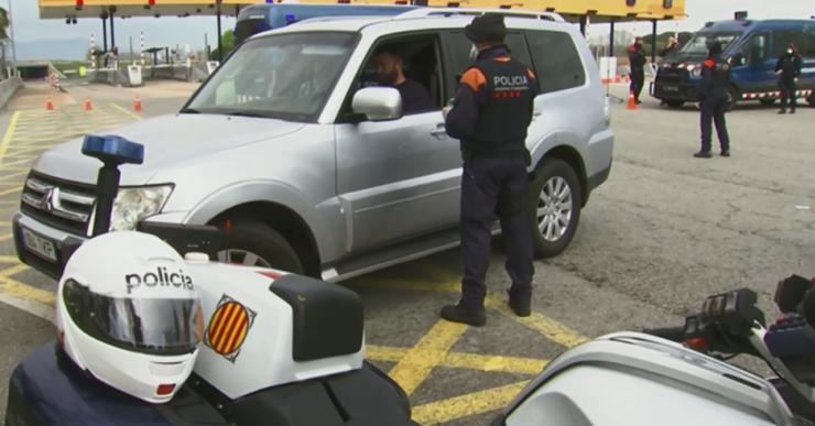 Els Mossos detenen un veí de Lloret de 35 anys per conduir begut i drogat i fugir d'un control policial