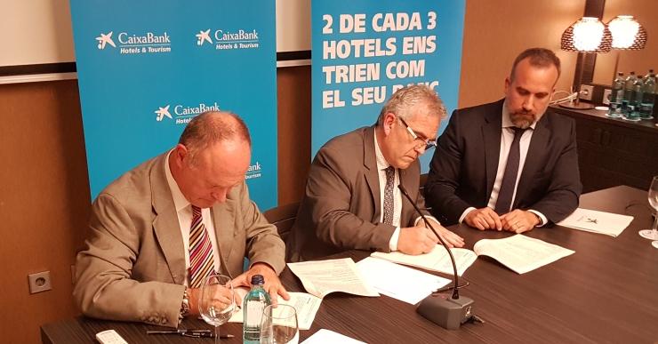 CaixaBank posa a l'abast dels hotelers una línia específica de finançament de 150 milions d'euros