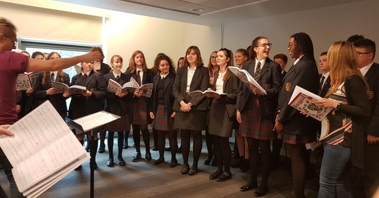 El cor jove del Hull Collegiate School actuarà a l'església parroquial de Sant Romà
