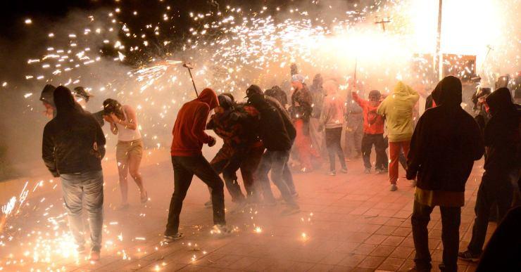 Consulta les mesures de seguretat del correfoc de la Festa Major de Santa Cristina 2019
