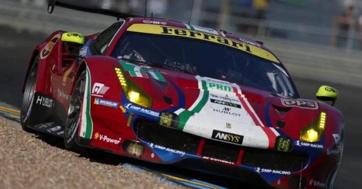 Miquel Molina, cinquè de la seva categoria a les 24 hores de Le Mans