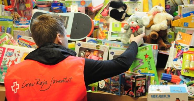 La Creu Roja torna a impulsar una campanya de recollida de joguines de cara a Reis