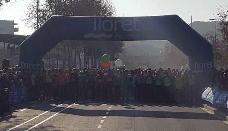 750 persones participen de la Cursa de Nadal, feta el passat 24 de desembre a Lloret
