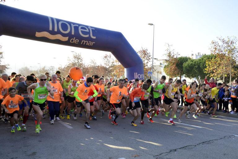 Queden 12 dies per a la setena edició de la Cursa de Nadal de Lloret de Mar
