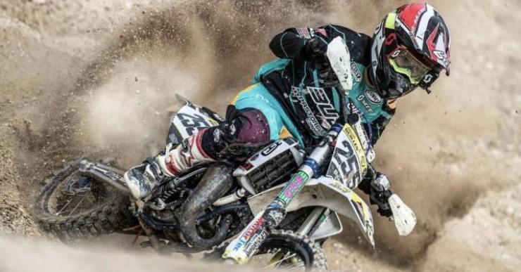 La lloretenca Daniela Guillén és una de les promeses del motocross en l'àmbit internacional