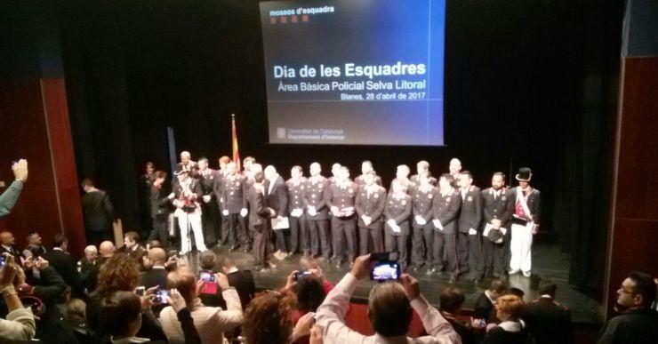 El Dia de les Esquadres reconeix la tasca feta pels Mossos d'Esquadra