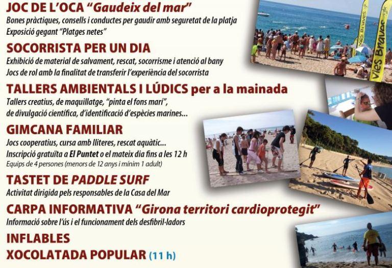 La platja de Fenals acollirà aquest diumenge el Dia del Mar, pensat per a famílies