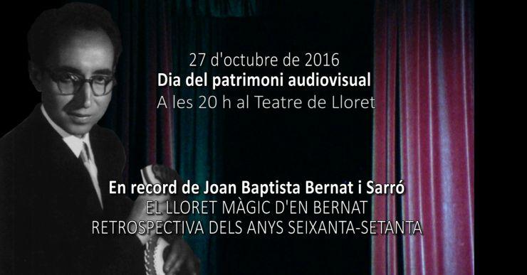 Lloret commemora el Dia Mundial del Patrimoni Audiovisual aquest dijous