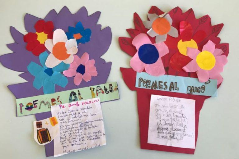 Els alumnes de la Immaculada Concepció celebren el Dia de la Poesia