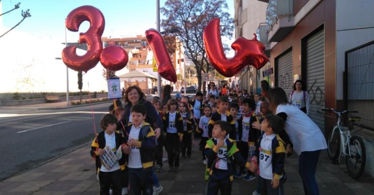 El col·legi Immaculada Concepció se suma per segon any a la celebració del Dia Pi
