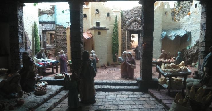 L'exposició de diorames es pot visitar fins aquest diumenge als Sants Metges