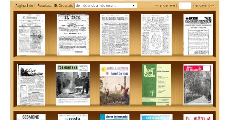 L'arxiu municipal inaugura un dipòsit virtual que permet consultar revistes