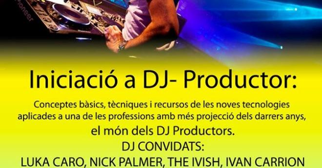 Taller d'iniciació per a DJs, al Puntet