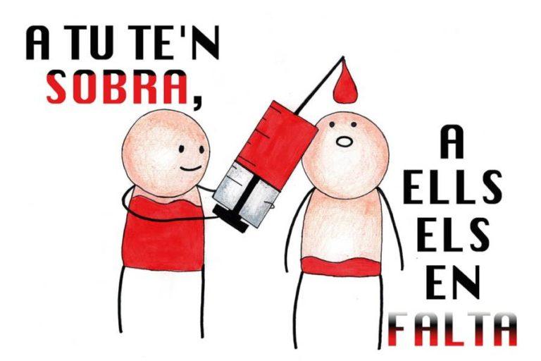 Campanya de donació de sang a Lloret amb la col·laboració de la Immaculada Concepció