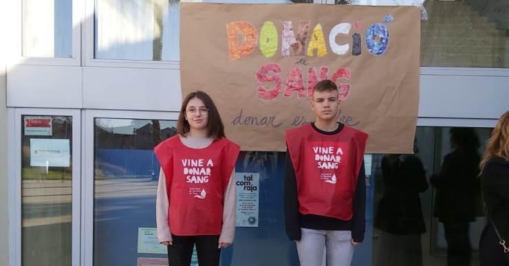 Bones valoracions de les 241 donacions de sang rebudes a la campanya de Lloret