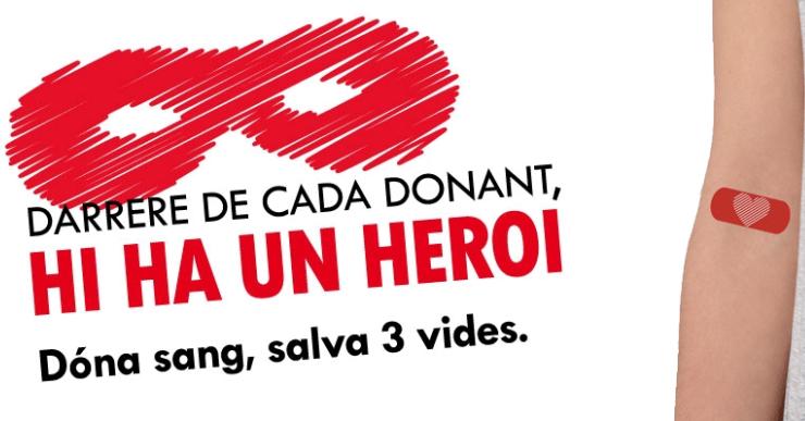 El Banc de Sang impulsa la campanya 'Dona que dona sang' amb motiu del 8M