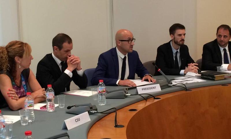 El primer discurs de Jaume Dulsat (CiU), com a alcalde de Lloret de Mar