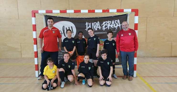 L'equip femení del Lloret Esportiu Futbol Sala ha jugat el seu primer partit