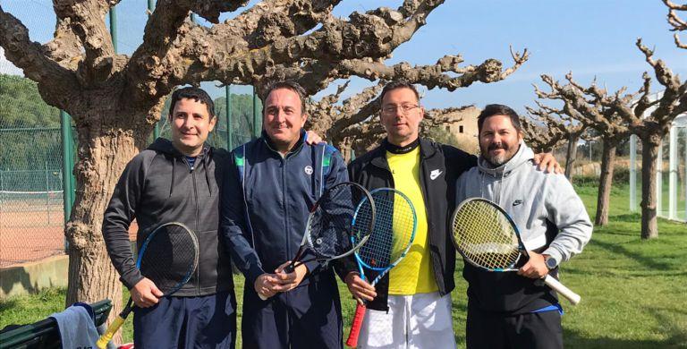 L'equip sènior del Club Tennis Lloret aconsegueix l'ascens a la Segona Divisió