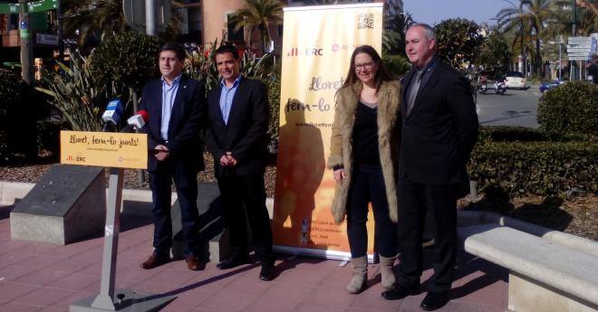Bernat, com a número 2, Pascual i Yerro formaran part de la llista conjunta d'ERC i Avancem