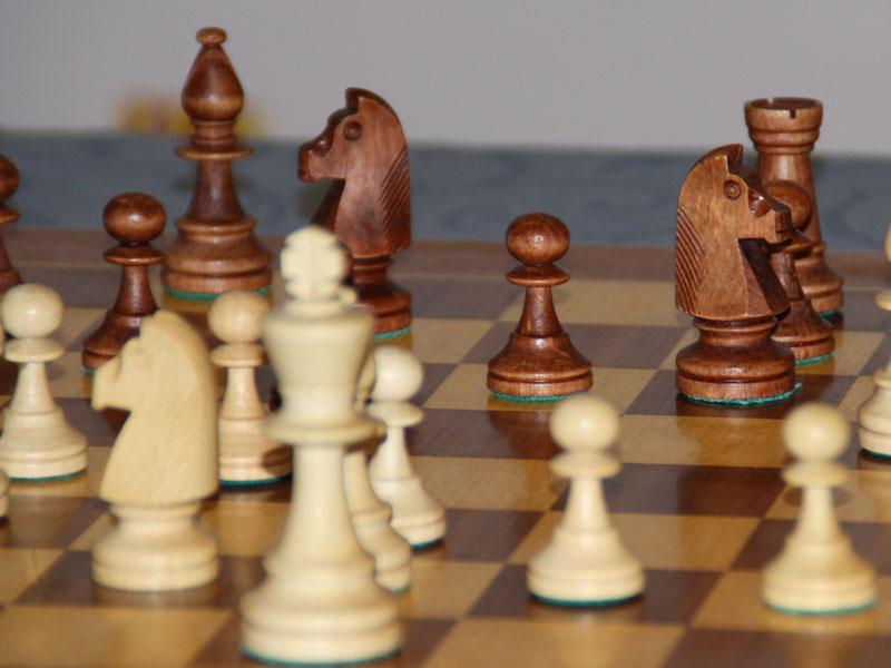 Festa dels Escacs per a grans i petits, al passeig Verdaguer