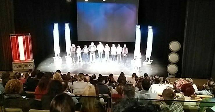 570 persones passen pel teatre en els dos espectacles programats el cap de setmana