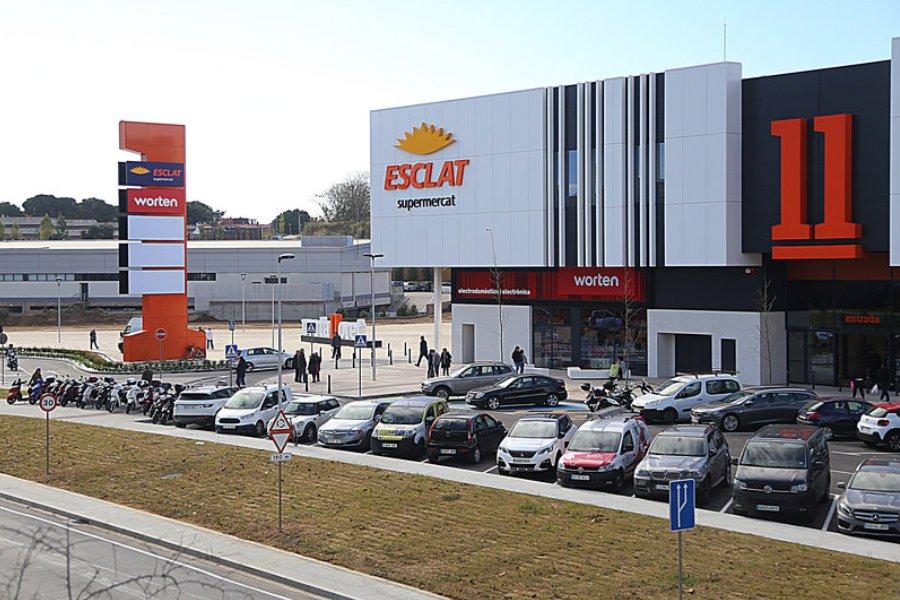 La botiga Worten forma part del centre comercial Porta Lloret