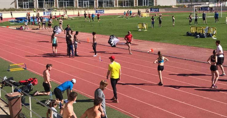 Més de 1.000 atletes entrenaran a Lloret de Mar al llarg d'aquest mes d'abril