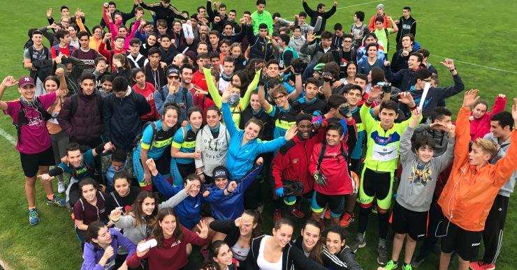 Un centenar d'alumnes han participat a l'última prova de l'Estudiant de Ferro