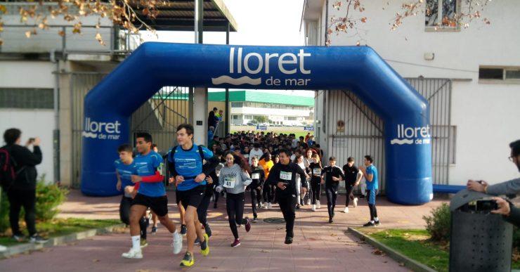 La prova de córrer obre la 5a edició de l'Estudiant de Ferro de Lloret de Mar