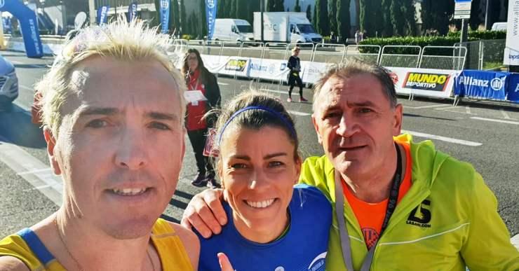 Eva Arias i José Luís Blanco competeixen a la Jean Bouin de Barcelona amb bones sensacions