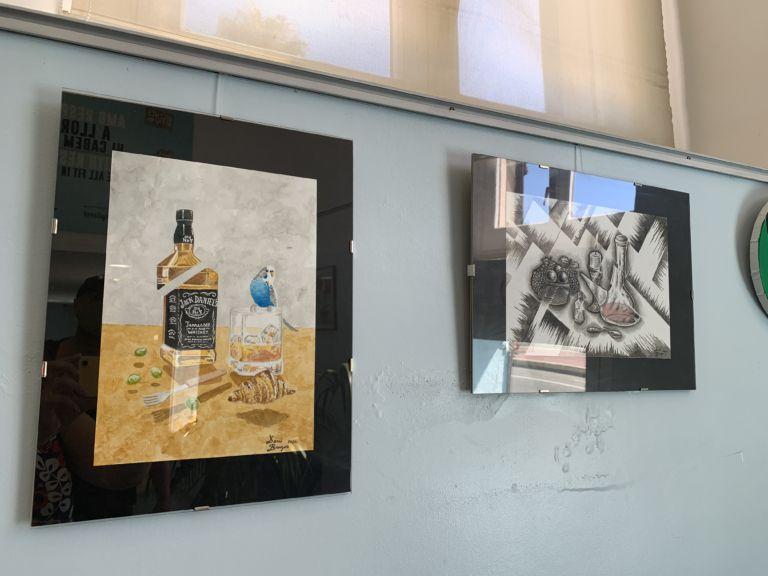 'Art en confinament' reuneix una quinzena de pintures de diversos artistes a l'OIAC