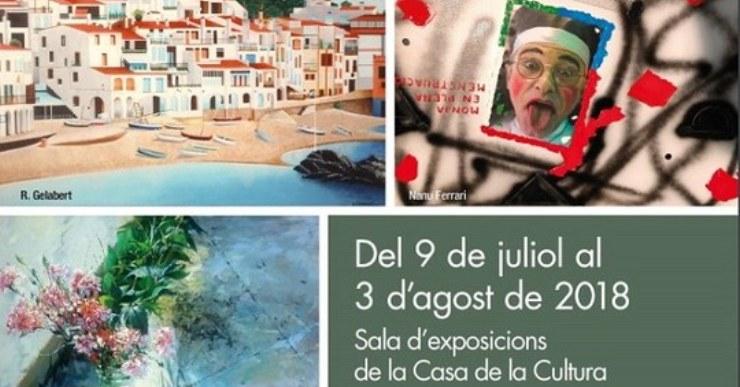 Aquest divendres s'inaugura l'exposició col·lectiva dels pintors de Lloret