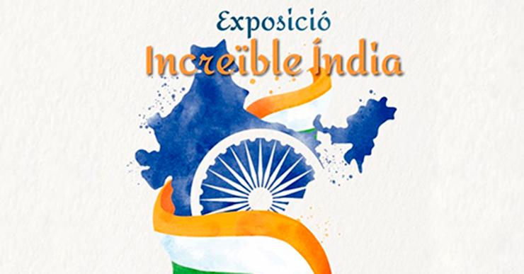 Avui, s'inaugura l'exposició 'Increïble Índia', a càrrec d'integrants del Club de Lectura Fàcil de la Biblioteca