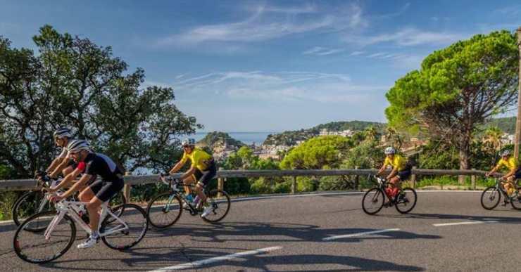 Aquest cap de setmana Lloret acull la 27a estada de cicloturisme de la Federació Catalana de Ciclisme