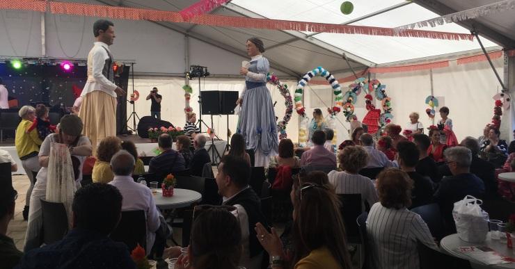 Èxit de la Feria de Abril de Lloret de Mar, amb més de 3.000 persones de públic