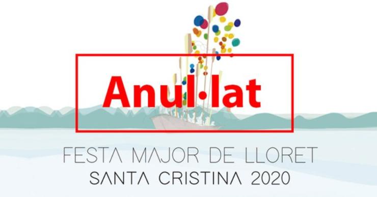 Anul·lada la Festa Major de Santa Cristina 2020 per la Covid-19