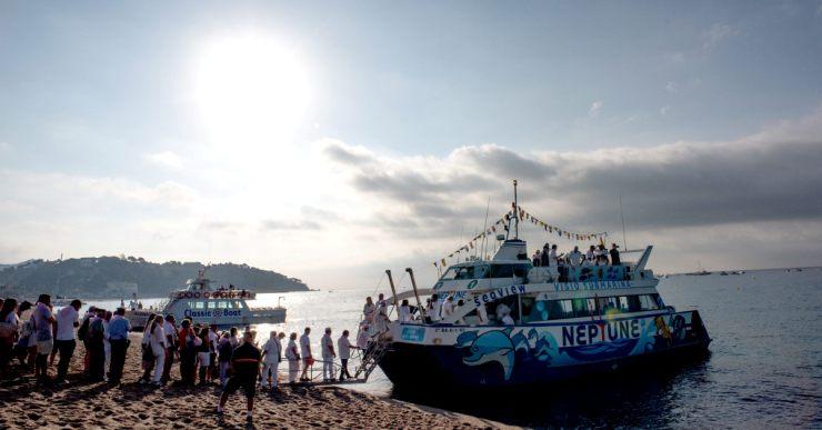 Ja es poden recollir els tiquets per anar amb vaixell a Santa Cristina per la Festa Major